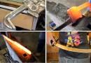 Видео: Изготовление меча из самого обыкновенного трубного ключа.
