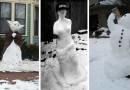 30 фотографий с забавными и невероятно творческими снеговиками.