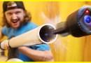 Видеоблогеры в очередной раз поиздевались над камерой GoPro Session, выстрелив ею из пневматической пушки. [Видео]