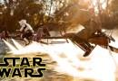 Великолепно поставленная битва на гравициклах из Star Wars в реальной жизни. [Видео]
