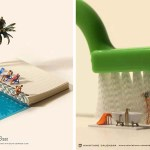 Веселые миниатюрные композиции японского художника, которые он создавал каждый день на протяжении 5 лет.