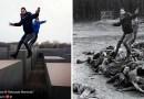 Художник из Израиля создал проект, в котором показал неуважительное отношение туристов к «Мемориалу жертвам холокоста» в Берлине.