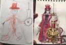 Папа превращает каракули своих сыновей в удивительные аниме-персонажи.