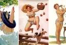 Сексуальные фотографии Хильды — забавной пин-ап девушки-пышки из 1950-х годов.
