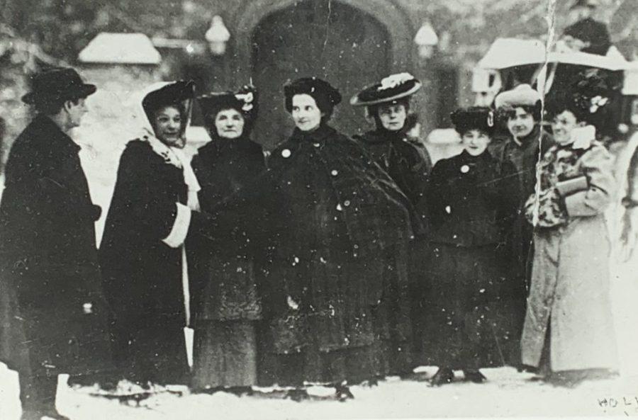 Great Aunt Sarah and Emmeline Pankhurst