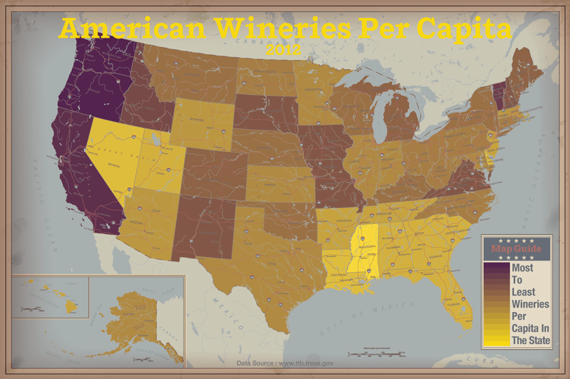 Funny U.S. Maps: 19 Hilariously Revealing Maps of America | Time