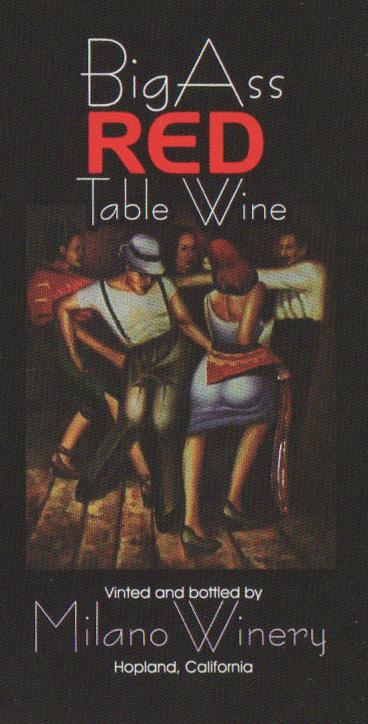 Big Ass Red Table Wine
