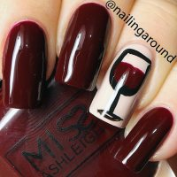5 Gorgeous Wine Manicures To Go With Your Next Glass ...