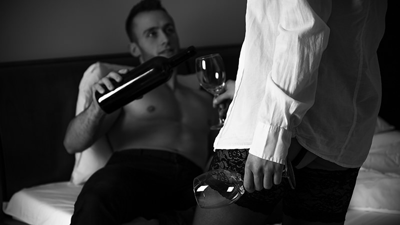 Wine makes you sexy