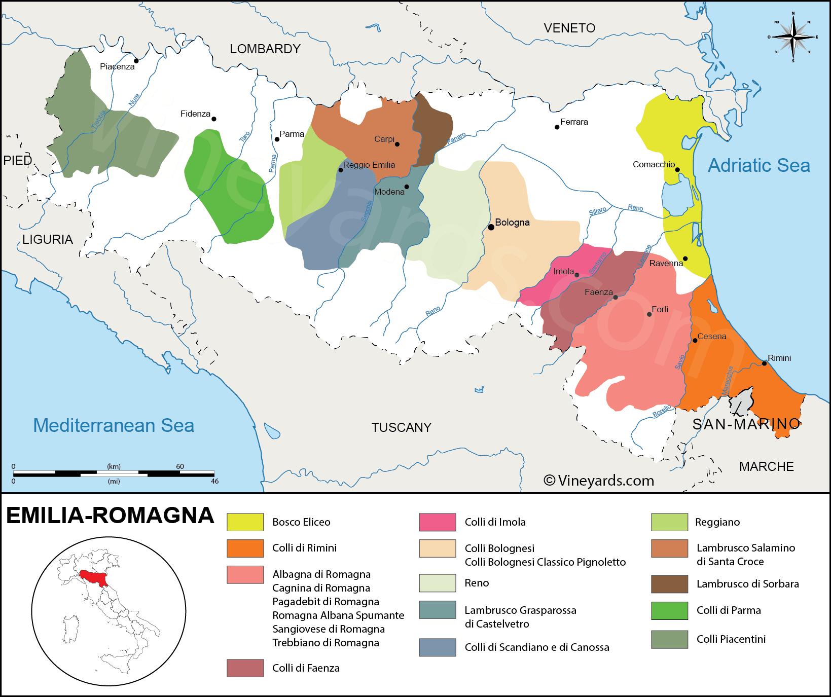 Region Campania Italy