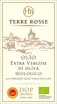 Terre rosse, extraordinary extra virgin olive oil from Azienda Agraria Hispellum