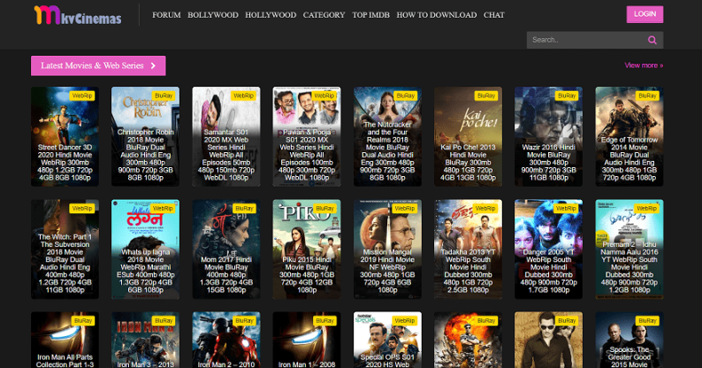 mkvcinemas a great free movie downloading site