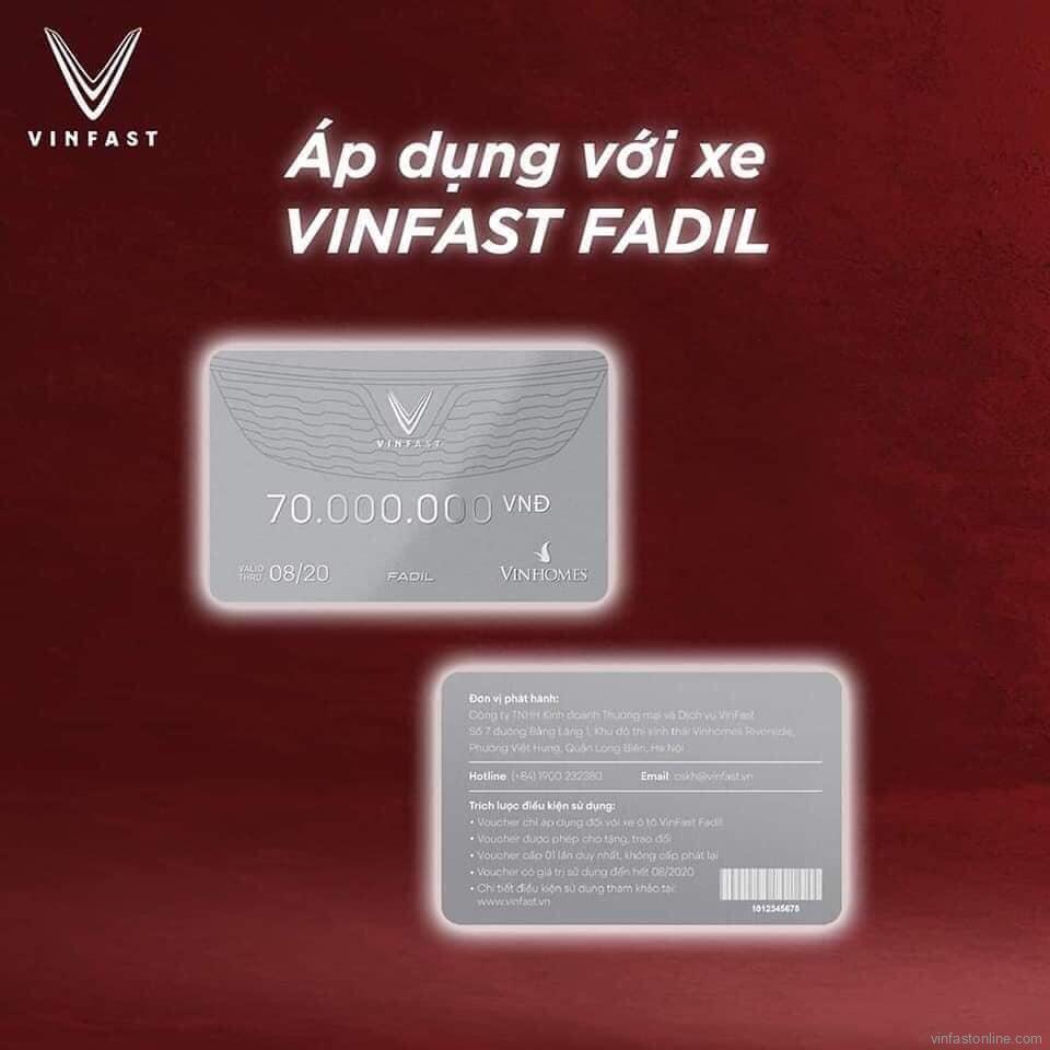 voucher VinFast Fadil