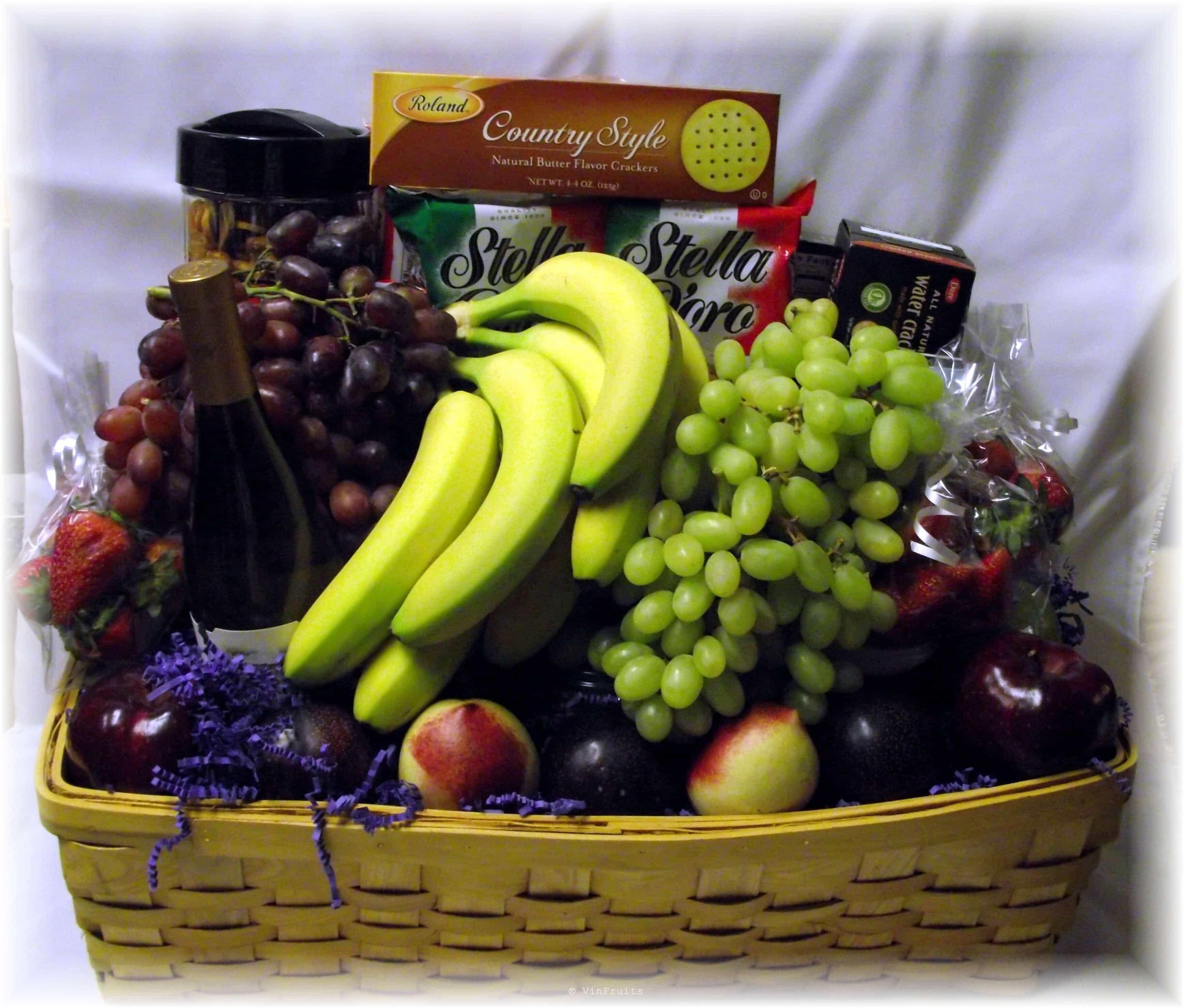 Giỏ trái cây cao cấp tặng sếp - VinFruits