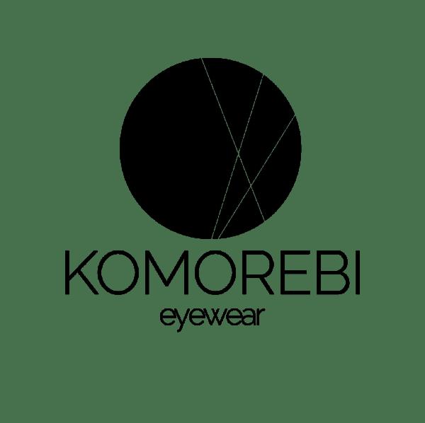 Logo van het brillenmerk Komorebi