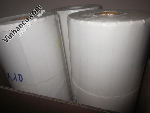 decal bế trắng dạng cuộn