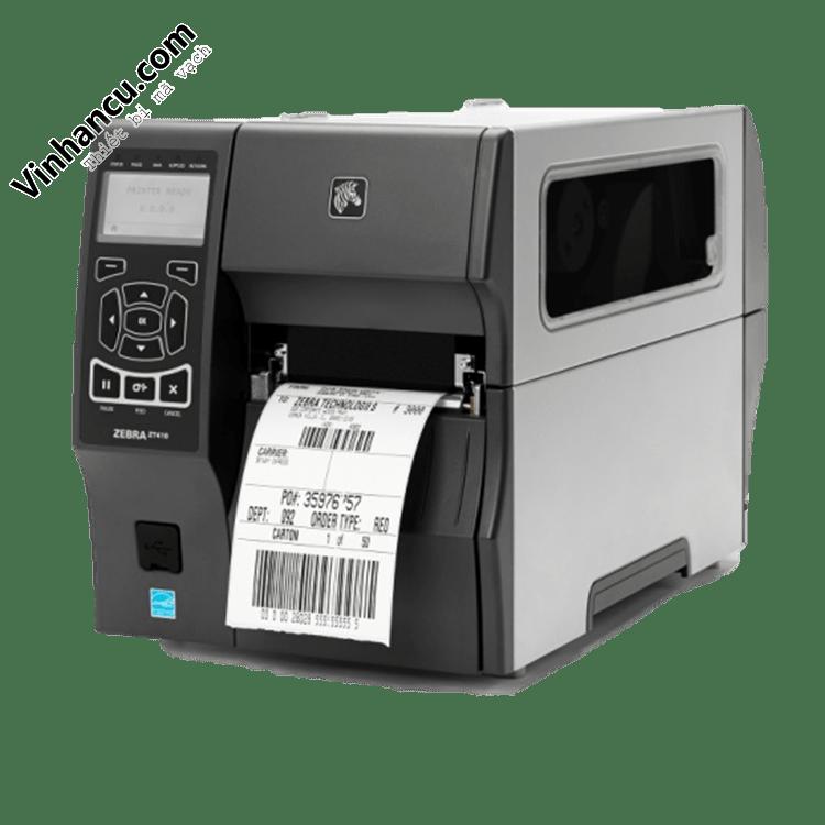 máy in zebra công nghiệp zt410 300 dpi