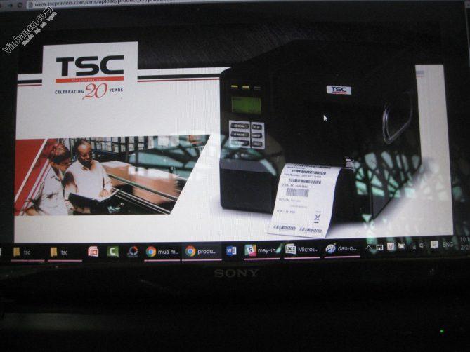 máy in tem TSC ME240