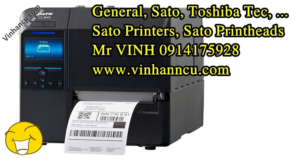 máy in tem Sato CL4NX giá tốt
