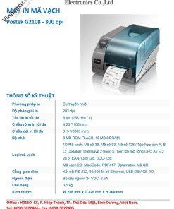 Giá bán Postek G2108 mới nhất hiện nay