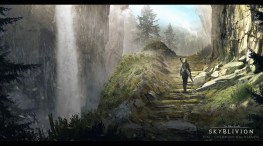 Skyrim - Oblivion MOD, concept to help the team visualize Oblivion in the updated engine.