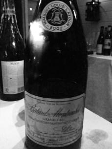 Batard Montrachet em magnum deliciosa!