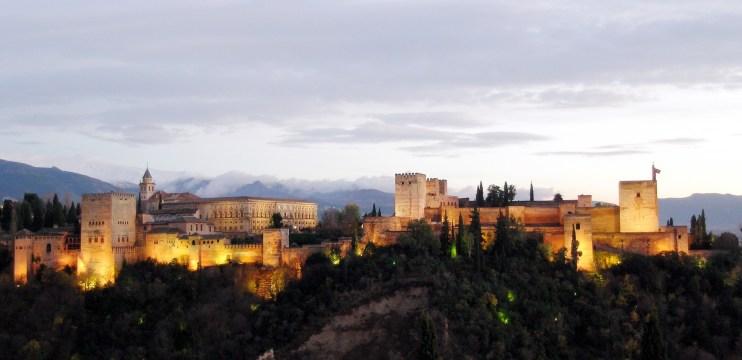 Alhambra e Generalife de Granada – Espanha
