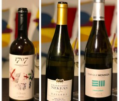 A versatilidade da Chardonnay em D.O. distintas – degustação