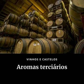 Aromas terciários do vinho
