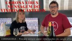 Coronavirus na Espanha – mensagem do Vinhos e Castelos