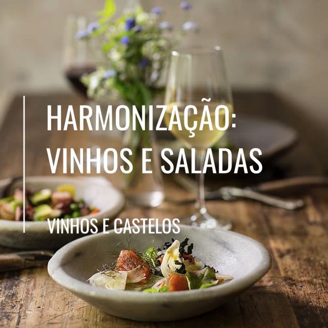 Harmonização de vinhos com saladas