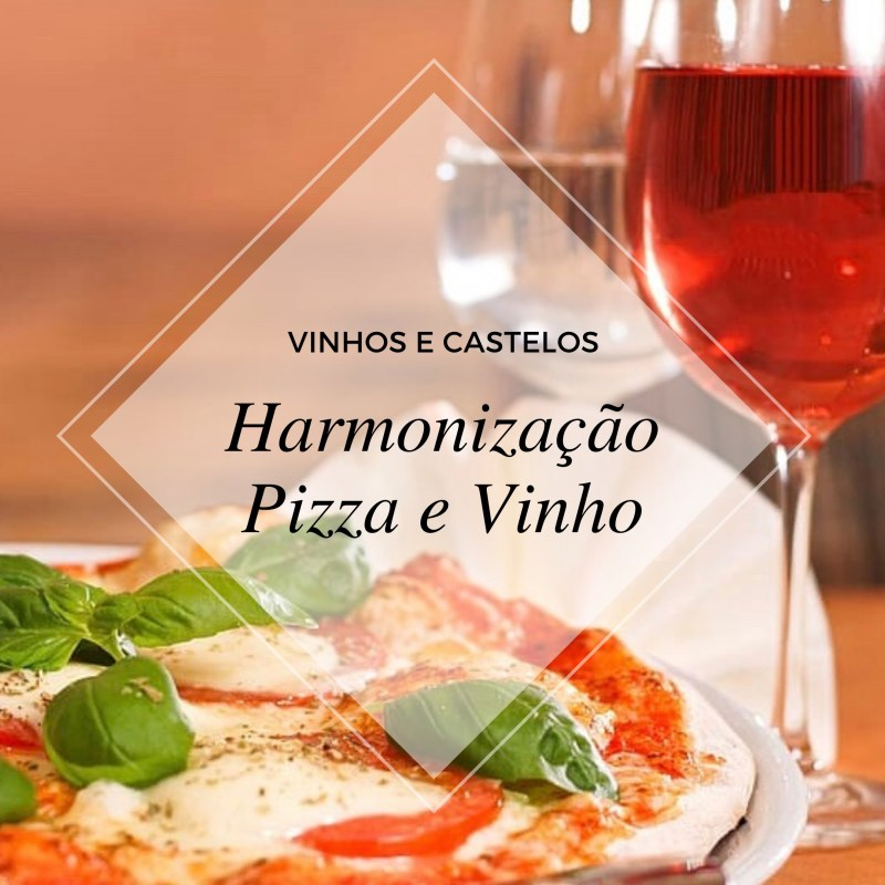 Vinho com pizza