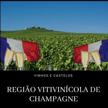 Região vinícola de Champagne – França