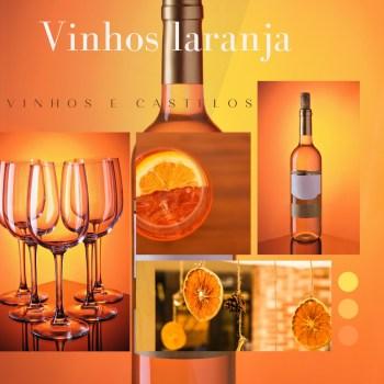 Orange wines ou vinhos laranja/âmbar