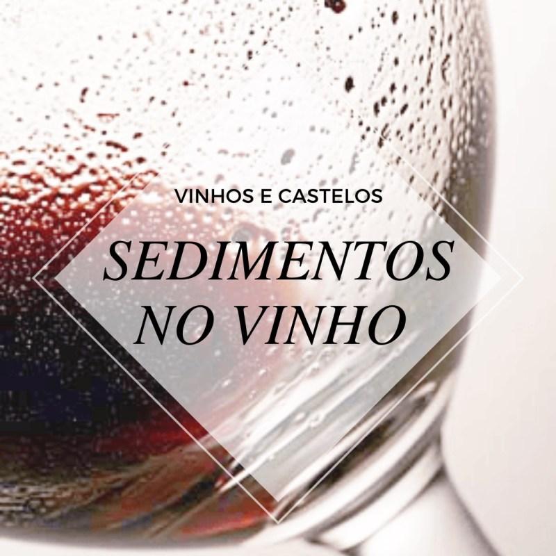 Sedimentos encontrados nos vinhos