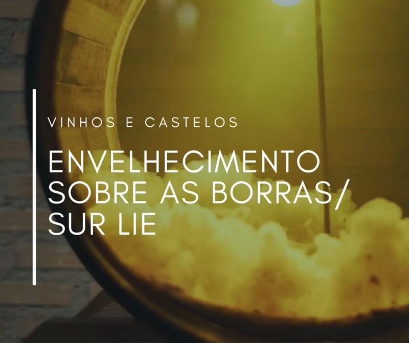 """Vinhos envelhecidos sobre suas borras ou """"sur lie"""""""