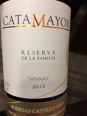 world wine catamayor tannat reserva