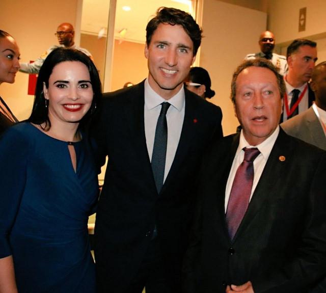 Vinicio Cerezo invita a Justine Trudeau a profundizar relaciones con el SICA