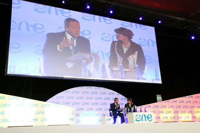 Secretario General del SICA, Vinicio Cerezo, participa en One Young World