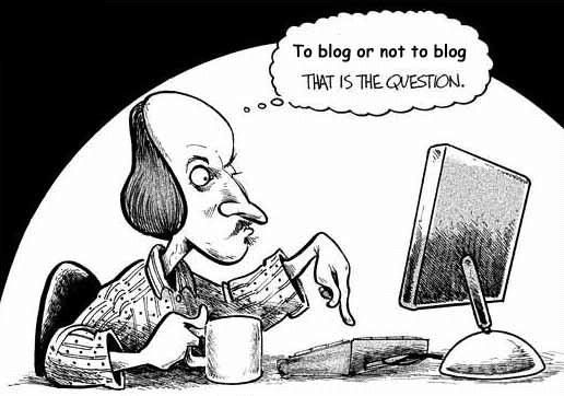 Blogar ou não blogar: eis a questão!
