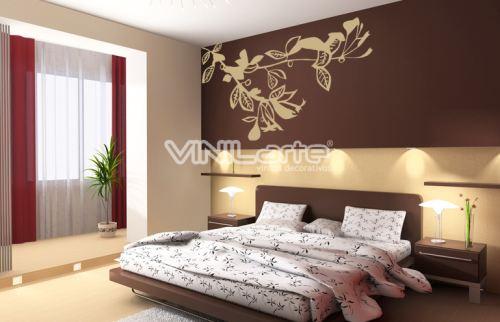Vinilo decorativo clasico de dormitorio  Vinilos decorativos