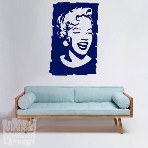 Vinilo decorativo Marilyn Monroe.