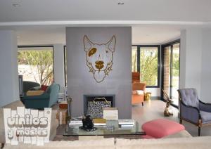 Vinilo decorativo Bull terrier 1.