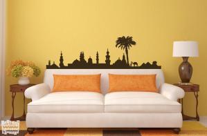 Vinilo decorativo silueta Egipto