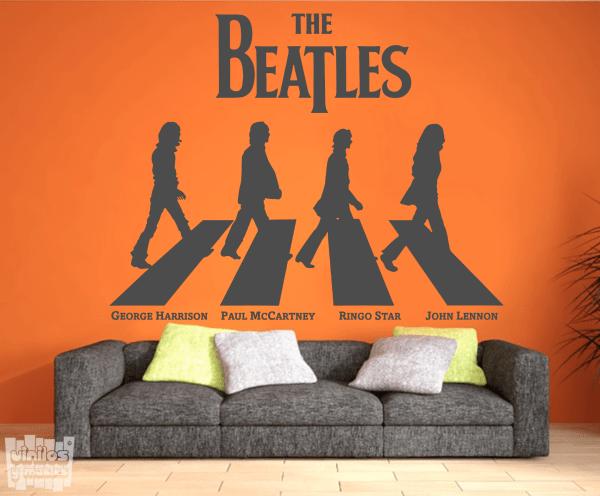 Vinilo decorativo The Beatles - Abbey road.