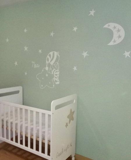 Colores para pintar las habitaciones beb  Blog de Vinilvip