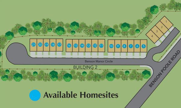 Site Plane Wyndy Hill Town Home Community