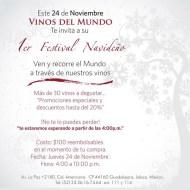 Festival Navideño Vinos del Mundo, en Guadalajara.
