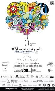 Cartel #MuestraAyuda