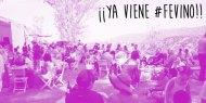 Programa #FEVINO: Dos semanas llenas de #VinoMexicano en #GDL y #DF